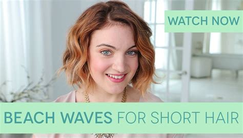 beachy waves for short gair with remington wand how to get beach waves for short hair curls wands and