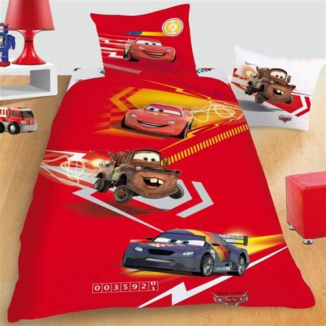 parrure de lit cars parure lit cars