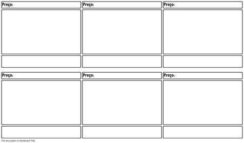 Modelo Vazio Do Storyboard Do Filme Storyboard Keynote Storyboard Template