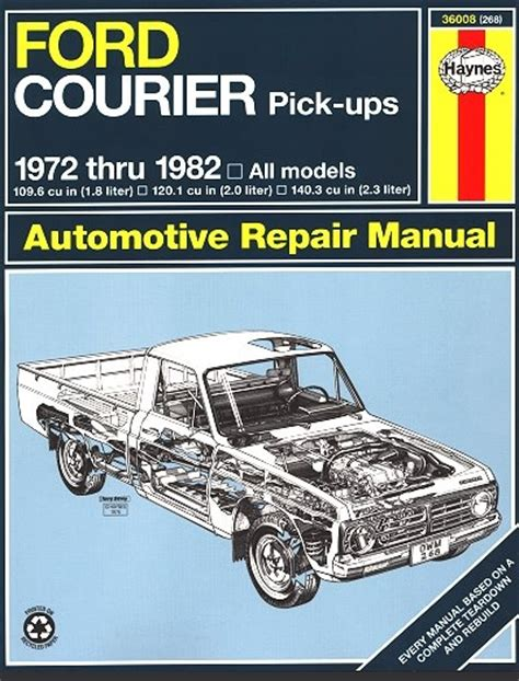 ford courier gearbox repair manual