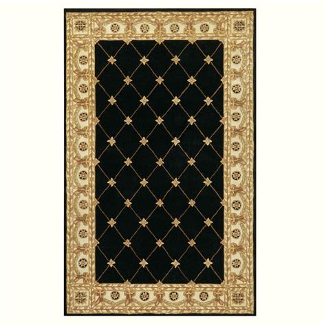 faux sisal rugs home depot home decorators collection faux sheepskin black 3 ft x 5 ft area rug 5248210210 the home depot