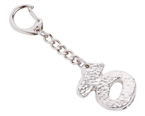 Wedding Anniversary Keyring by 10th Year Anniversary Tin Keyring