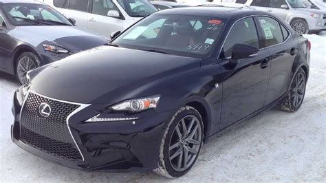 lexus is 250 red interior 2014 lexus is 250 awd premium f sport package review with