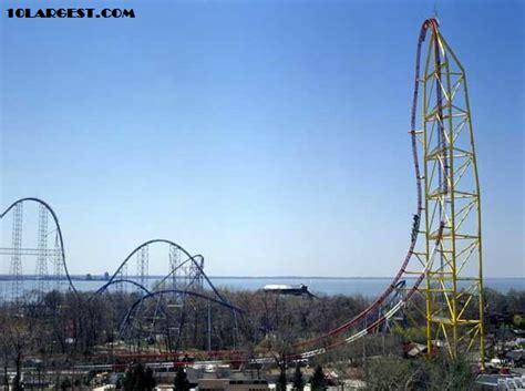 theme park in ohio world s top 5 tallest roller coasters with pictures