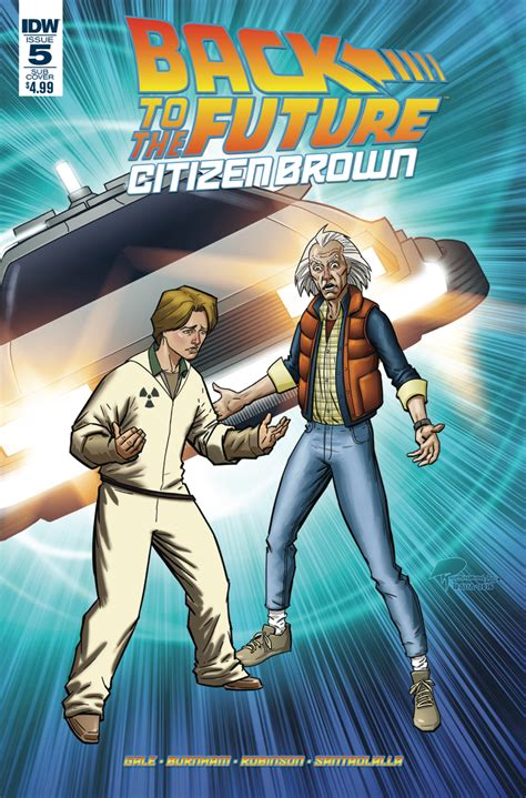 Back To The Future Citizen Brown by Back To The Future Citizen Brown 5 Idw Publishing