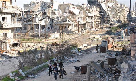 News And Trashionista News Is The Best City In America by A Destrui 231 227 O Causada Pela Guerra Na S 237 Ria