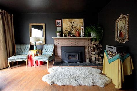 Home Interior Wall Painting Ideas 4 Tips On How To Use Black Walls Inside Your Home