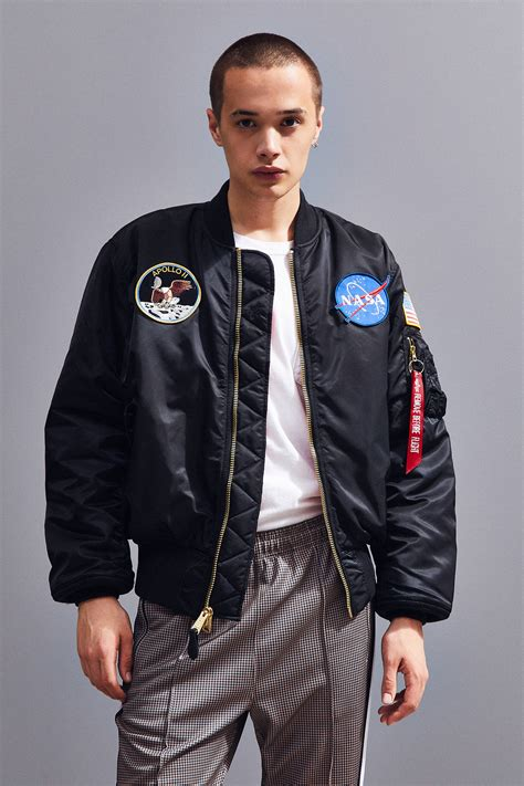Ma 1 Nasa Bomber alpha industries nasa ma 1 bomber jacket outfitters