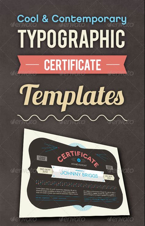 cool certificate templates 50 diploma and certificate templates in psd word vector