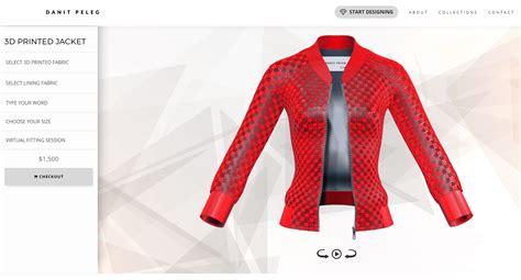design jaket printing 3d printing goes ready to wear as danit peleg s bomber