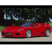 International Fast Cars Ferrari Spider 360