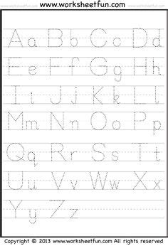 capital small letter tracing worksheet printable free printable alphabet tracing letters tracing clip