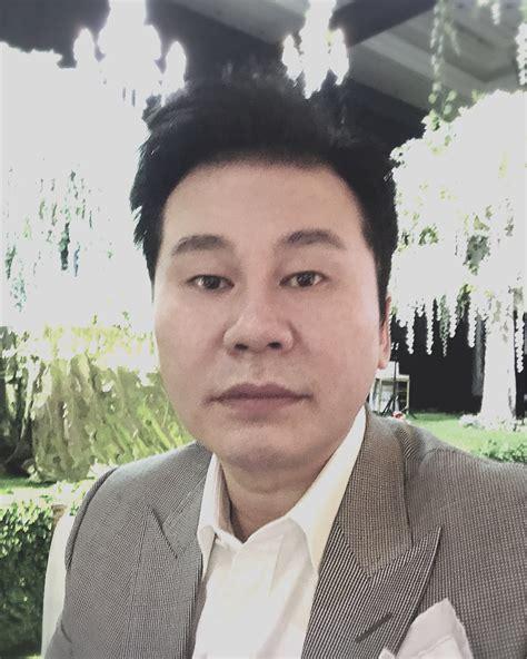blackpink yang hyun suk yang hyun suk proves he s not bald by sharing rare photo