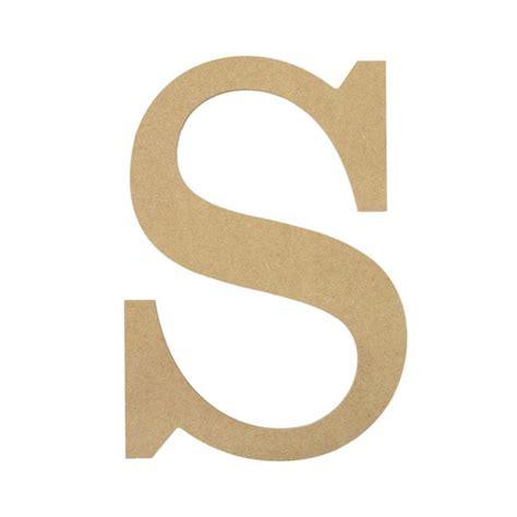 S S S 10 quot decorative wood letter s ab2043 mardigrasoutlet