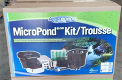 aquascape micropond kit pond kits koi pond kit waterfall kits