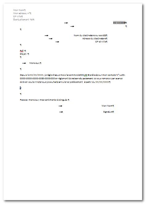 Exemple De Lettre De Procuration De Compte Bancaire Exemple De Lettre D Annulation De Procuration