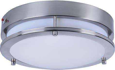 linear flush mount ceiling light maxim 55546wtsn linear modern satin nickel led flush mount
