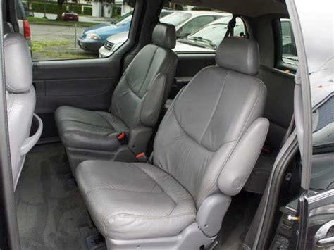 seat covers for chrysler town and country 2001 chrysler town country deluxe leather seat covers