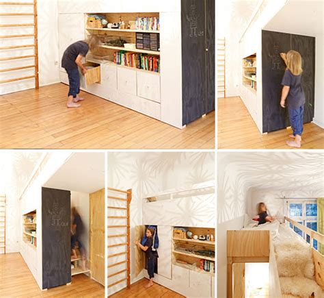 Secret Room Bed by The Swiss Army Knife Of Rooms Cool Loft Beds