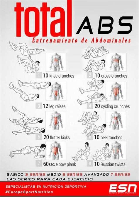 imagenes de ejercicios para workout total abs ejercicios de abdominales informaci 243 n y