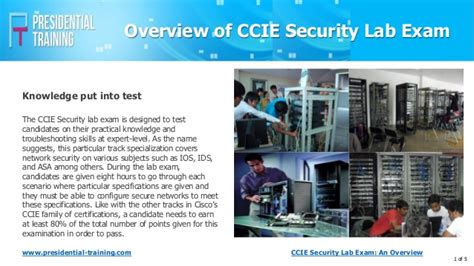ccie security lab an overview