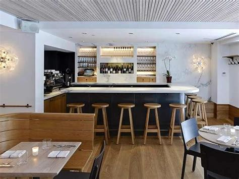 bar hospitality interior design of a kitchen restaurant