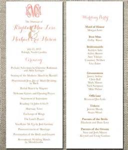 traditional wedding programs 17 best images about wedding programs and menus on traditional wedding and