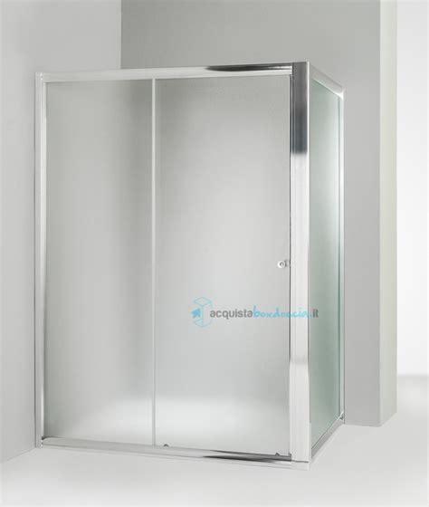 piatto doccia 60x100 box doccia angolare anta fissa porta scorrevole 60x100 cm