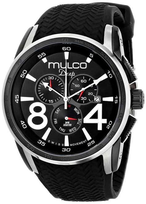 Unisex Form Xl Analog Display Quartz Black Watc mulco unisex mw1 29849 021 analog display swiss quartz black watchs d