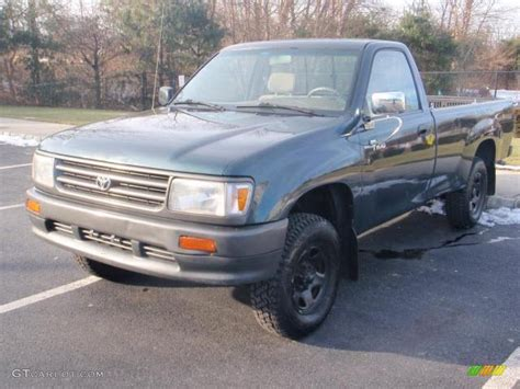 1993 Toyota T100 1993 Forest Green Metallic Toyota T100 Truck Regular Cab