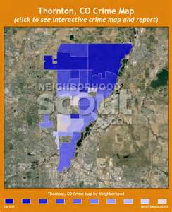 colorado crime map thornton co crime rates and statistics neighborhoodscout