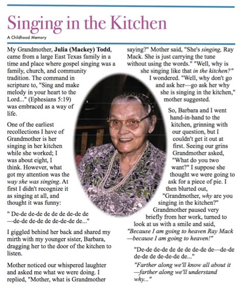Singing In The Kitchen by Singing In The Kitchen Raymack