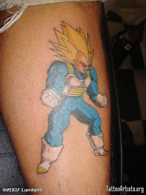 dbz tattoo tattoos vegeta the dao of