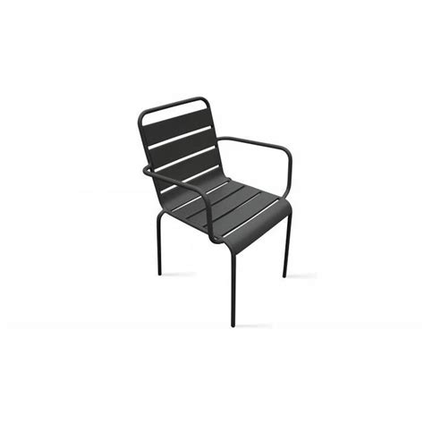Chaise De Jardin Metal by Chaise De Jardin Design En M 233 Tal Blanc Achat Vente