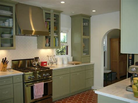 green and red kitchen ideas green kitchen cabinets for eco friendly homeowners