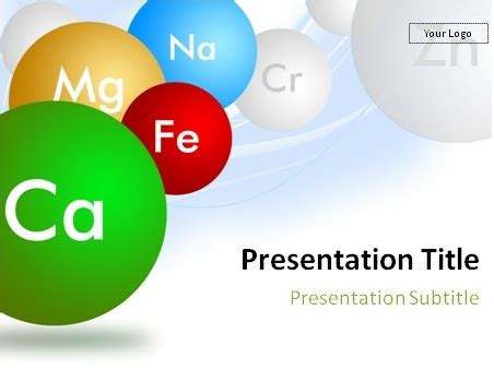 Download Chemistry And Chemical Elements Powerpoint Template Free Chemistry Powerpoint Template