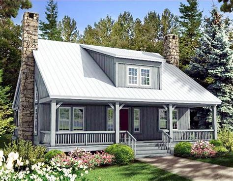 country cottage house plans with porches plan 58555sv big rear and front porches design nice