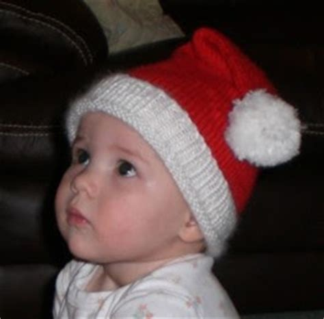 santa hat for babies knitting with monkey baby santa hat pattern