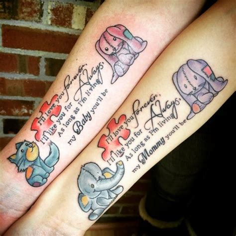 15 lovely mom and daughter tattoos examples sheclick com