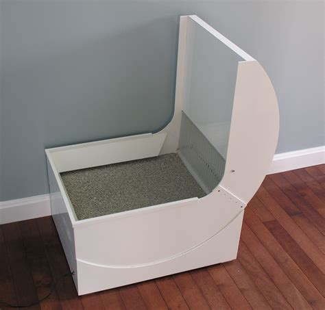 auto litter box purrfectscoop litter loo automatic self cleaning cat