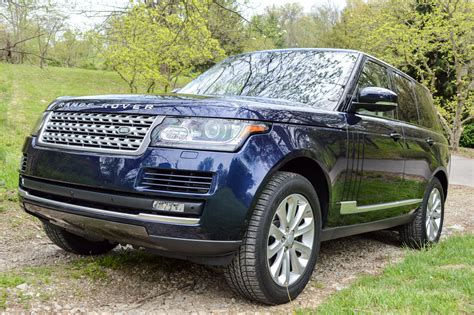 reviews of land rover review 2016 land rover range rover hse 95 octane