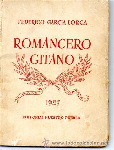 libro romancero gitano romancero gitano 1937 lorca comprar libros antiguos de poes 237 a en todocoleccion 27976681