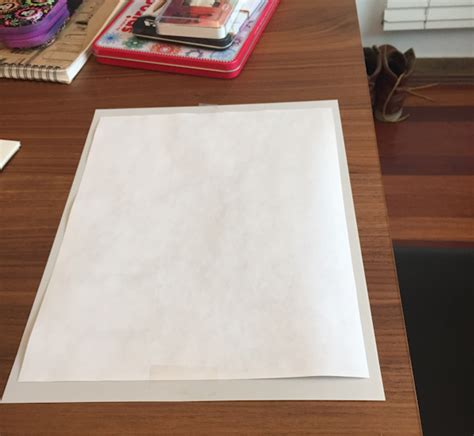 Make Tracing Paper - and easy scribble drawings artiful painting demos