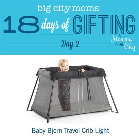 Baby Bjorn Travel Light Crib 2 December 3 2014 Sincerely