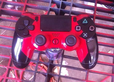 Ps4 Themes Deadpool | ps4 deadpool themed custom controller ps4 logos and buttons