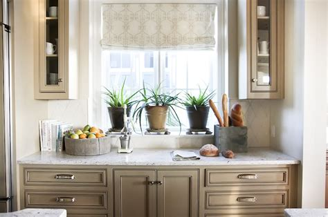 taupe kitchen cabinets transitional kitchen grace interiors