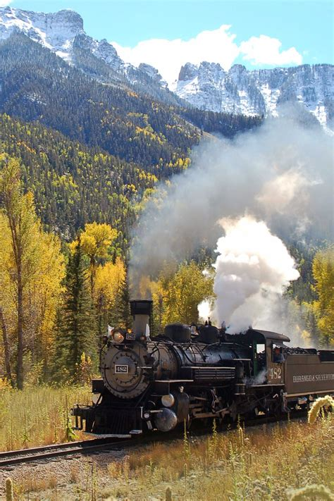 official durango silverton narrow gauge railroad train autumn trains durango silverton narrow gauge railroad