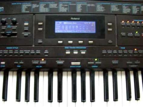 Roland E 5 jazz improvisation on roland e 500 keyboard