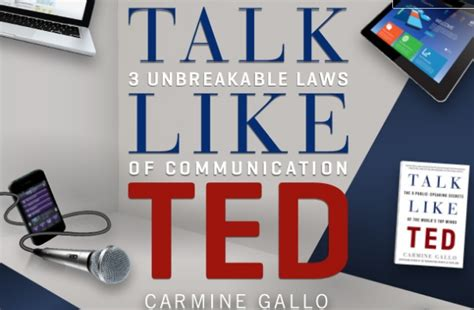 libro talk like ted the carmine gallo talk like ted