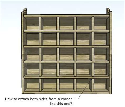 how to build a cubby bookcase build your own 25 unit cubby case this website has tons